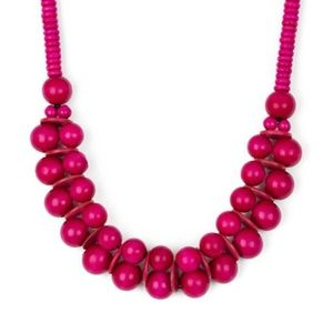 paparazzi Jewelry - Caribbean Cover Girl - Pink Necklace Set